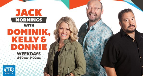JACK Mornings with Dominik, Kelly & Donnie