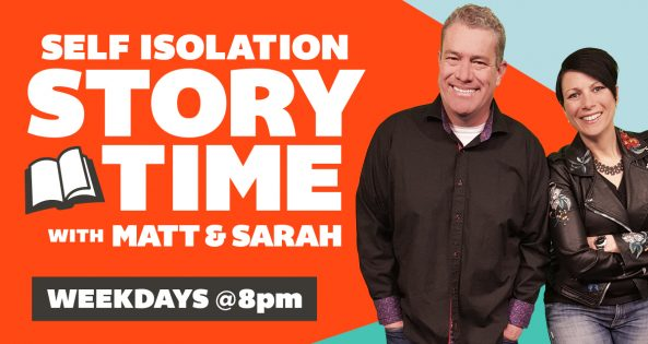 Self Isolation Story Time with Matt & Sarah